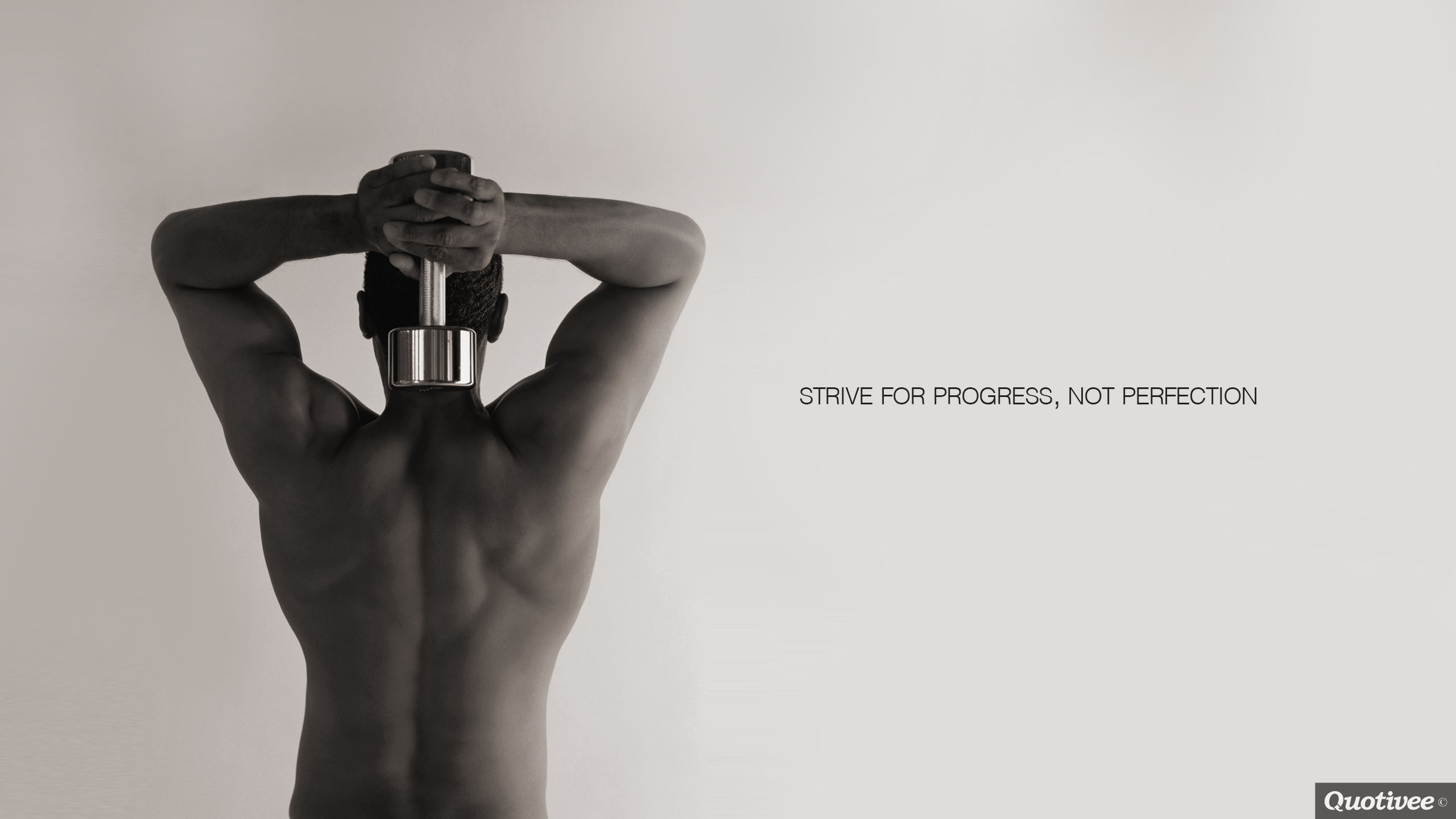 Strive for Progress - Inspirational Quotes | Quotivee