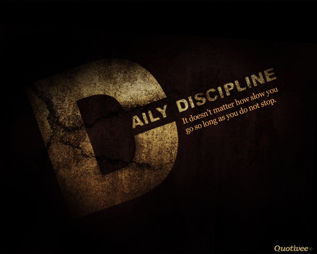 Daily Discipline - Inspirational Quotes | Quotivee