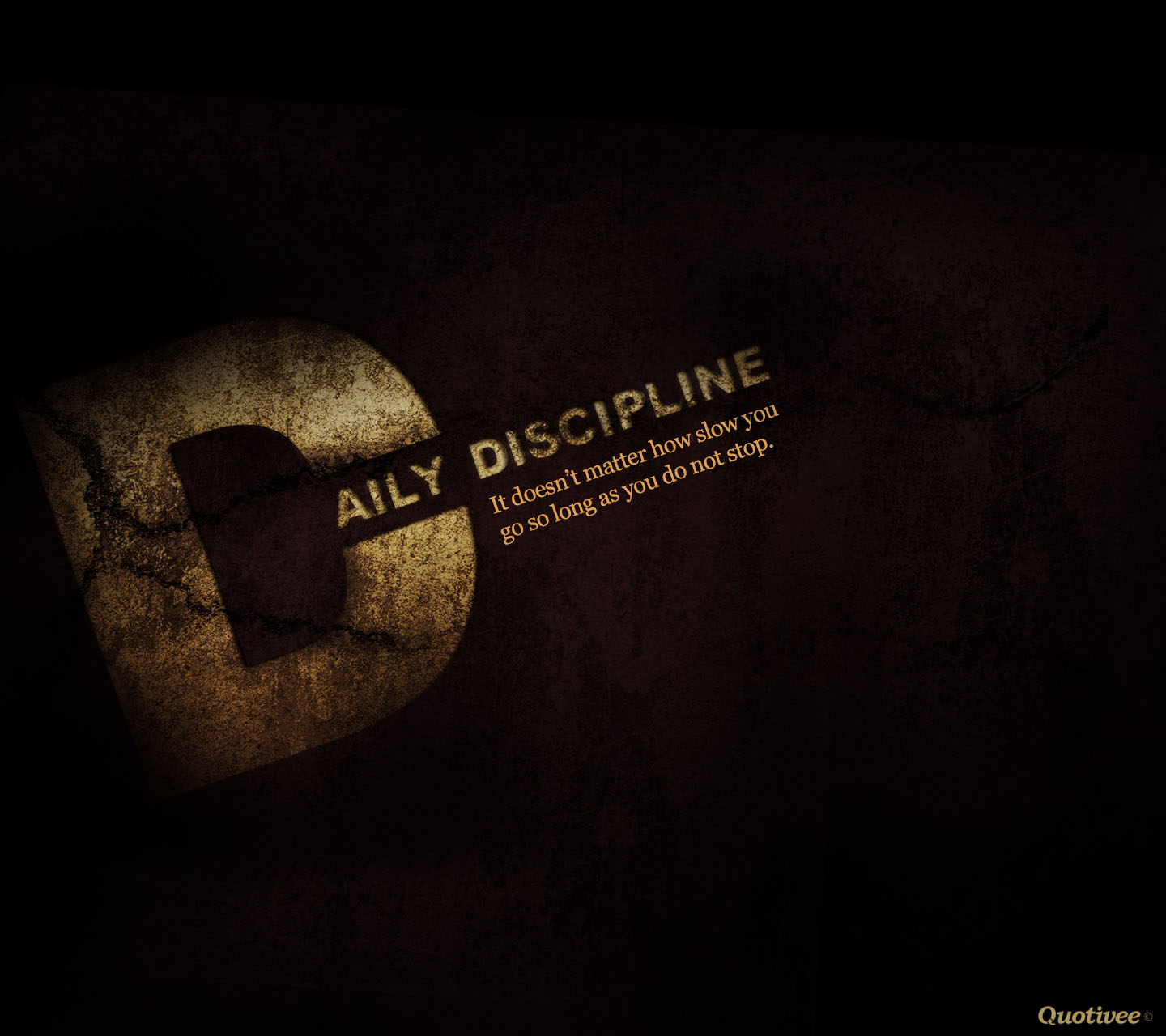 Daily Discipline - Inspirational Quotes