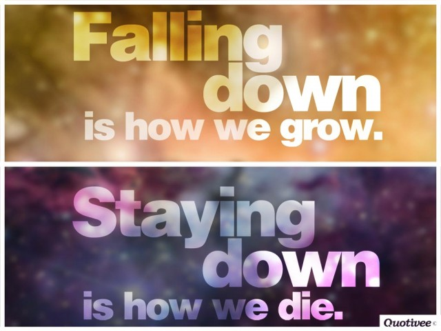 How We Grow And How We Die