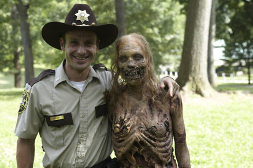 The Walking Dead 1.1 Days Gone By Behind The Scenes Andrew Lincoln