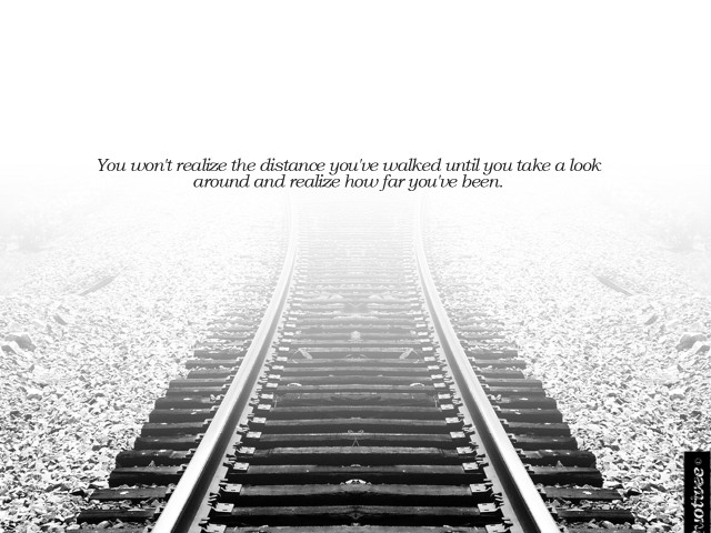 The Distance You've Walked