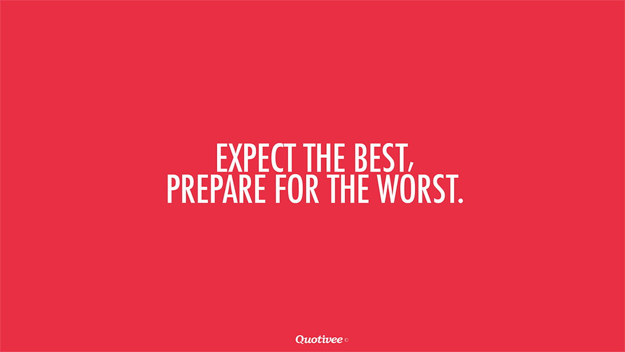 Expect The Best