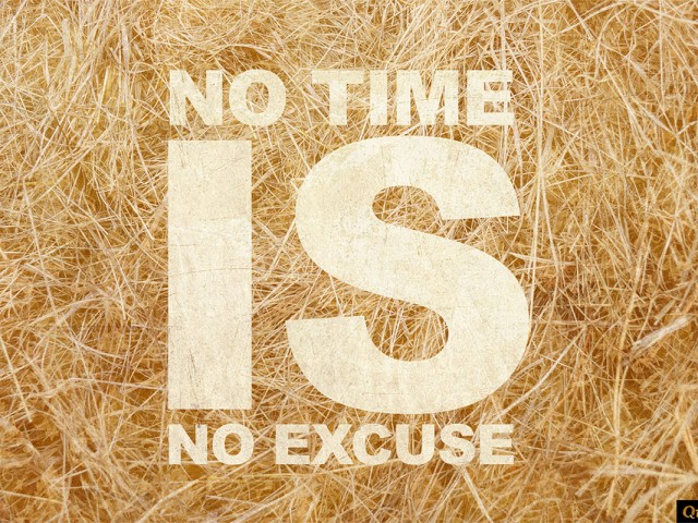 No Excuse