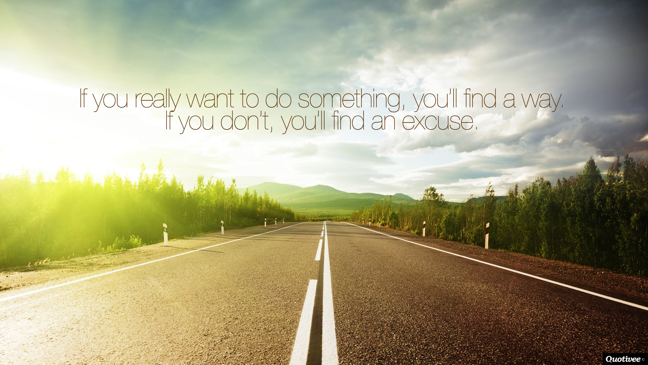 Find a way inspirational quotes quotivee for Where to find wallpaper