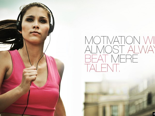 Motivation Beats Talent