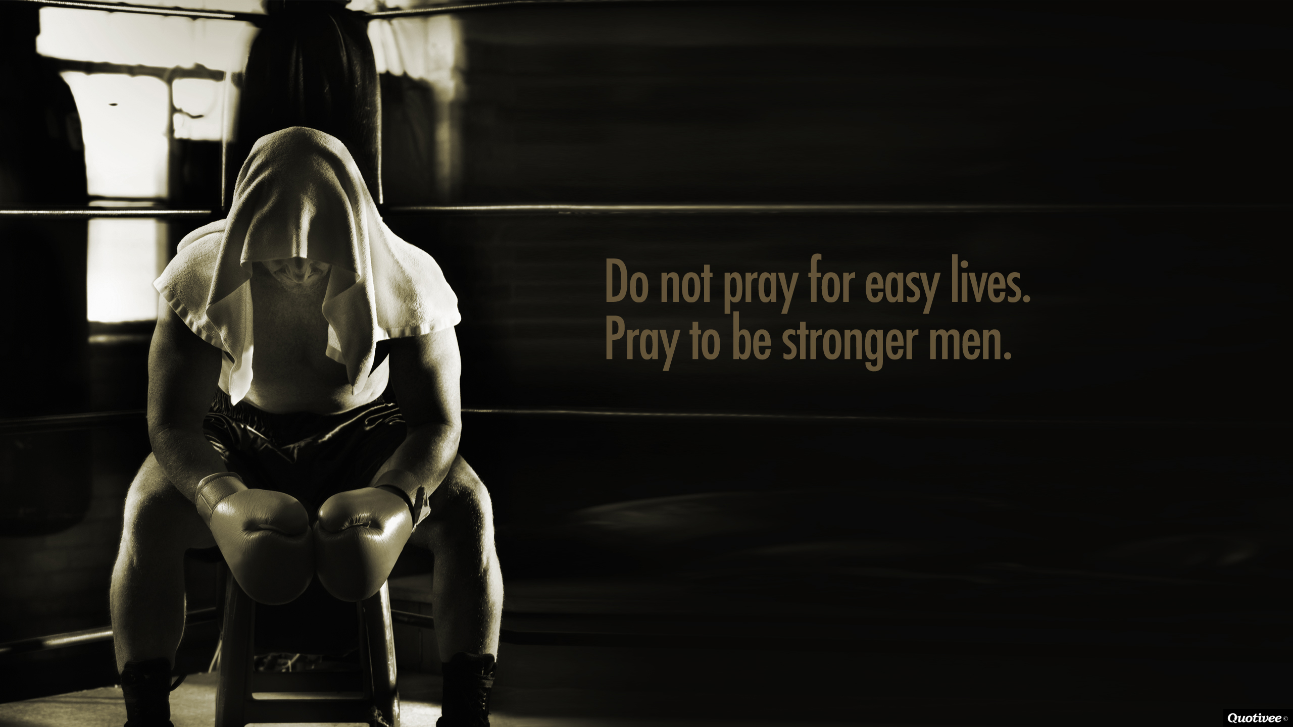 Fitness Inspiration Wallpaper Hd Do Not Pray For Easy L...
