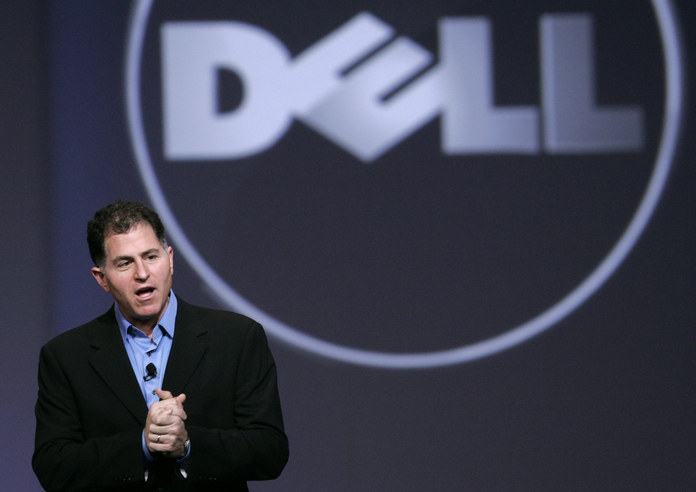 Dell Inc. CEO Michael Dell gives keynote address at Oracle Open World in San Francisco